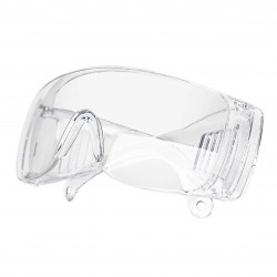 12pz/dozen.Protective and hygienic safety glasses, clear anti-fog and anti-scratch glasses for work.L002