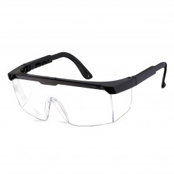 12pz/dozen.Protective and hygienic safety glasses, clear anti-fog and anti-scratch glasses for work.L010